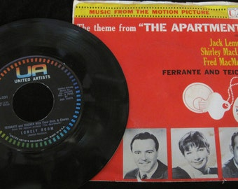 "Theme from ""The Apartment"" vintage 45 record Ferrante and Teicher"