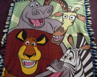Madagascar Fleece Blanket