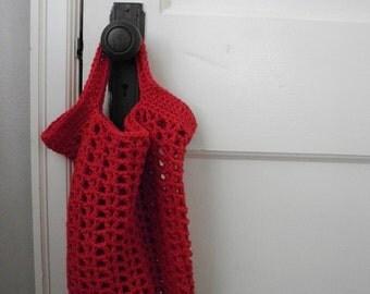 sale -- Market Tote -- red