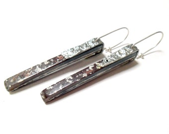 Material Landscape Jewel Shard earrings.