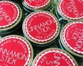 Cinnamon Stick  6 oz Travel Candle