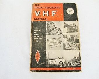 vintage radio amateurs VHF manual 1965