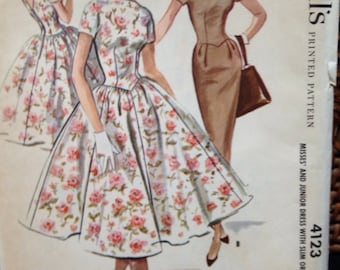 1957 McCalls 2 looks pattern