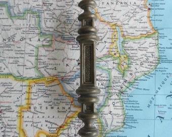 SALE! Vintage medieval style brass metal handle