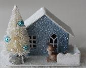 Putz House -Blue Deer