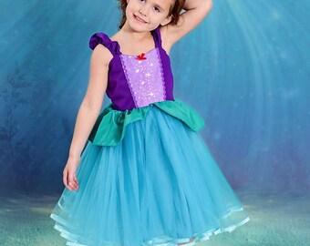 Ariel dress, Ariel costume, little Mermaid dress, the little mermaid, princess Ariel, Ariel Tutu dress, Ariel party, Ariel birthday, Ariel