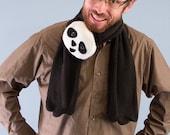 Écharpe en polaire Panda