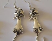 Cat earrings, Cat jewelry, Cat, Catcon, Cat show, Kitty earrings, Meow, Cat lady, cat gift, Ready to ship, MsFormaldehyde