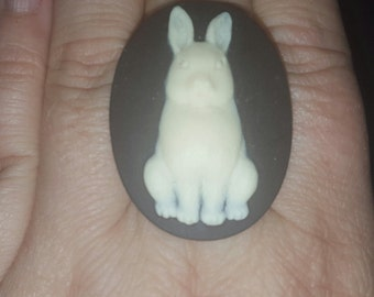 Rabbit, Rabbit ring, Bunny, Bunny ring, Etsy gift, Gift for her, Ready to ship