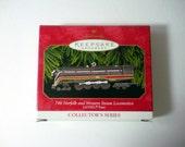 Hallmark Keepsake Lionel Locomotive Train Ornament Collector's Series,746 Norfolk And Western Steam Loomotive