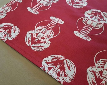 Red Lobster Table Runner - Weddings, Receptions, Parties, Dining Table, Buffet -