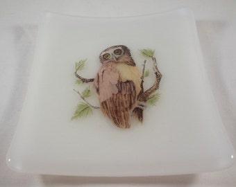 Owl Trinket Dish (TD 145)