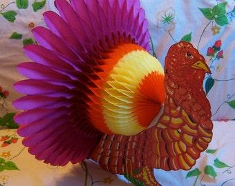 colorful large honeycomb turkey