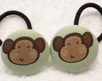 Ponytail Holders Ties And Elastics Hair Accessories Monkey Hair Ponies Girl Ponytail Holder