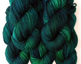 Aran SW Merino, Cashmere and Nylon Yarn - Enchanted, 180 yards