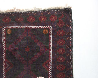 Moroccan Handwoven Area Rug - 6 ft x 3 ft