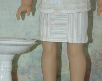 Mini skirt, 18 inch doll clothes, doll clothes, skirt