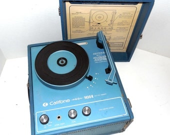 Califone 1430K Record Player refurbished with warranty
