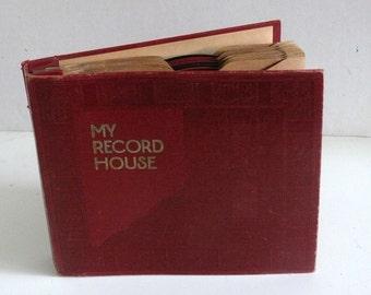 Record ALBUM and TEN children's records