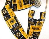 Stethoscope Cover Boston Bruins Hockey