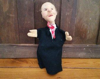 Vintage German Kersa Hand Puppet