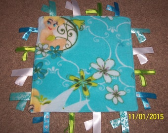 Homemade, Tinkerbell Ribbon Blanket