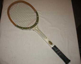 Vintage Pancho Gonzales Prize Cup Wood Wooden Tennis Racquet by Spalding