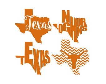 University of Texas Longhorn Decal Art
