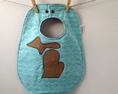 Michigan Baby Gift - Baby Bib with Snaps