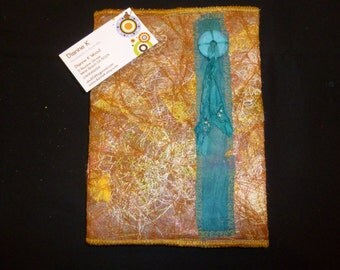 Journal Cover Textile Art (589)
