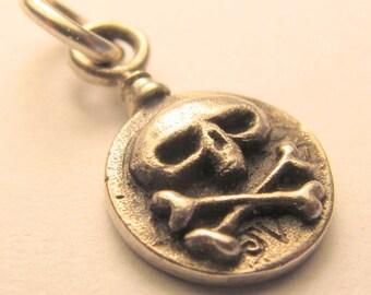SKULL TAG sterling silver