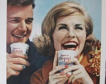 247  Pepsi Cola Ad  - 1962