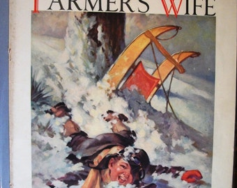 EVER 112 The Farmer's Wife Magazine Front Cover Only - February 1935