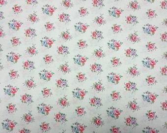SALE Cath Kidston Habadashery Cotton Fabric  17x9