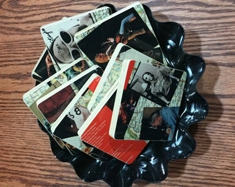 OZARK MOUNTAIN DAREDEVILS recycled It's Alive Record album cover coaster set