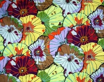 Lotus Leaf Antique GP29 - Kaffe Fassett Classics 100% Quilters Cotton Available in Fat Quarter, Half Yard, Yard