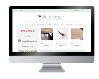 Beautique -Premade ECommerce Theme for Wordpress