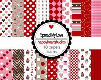 DigitalScrapbook-SpreadMyLove-INSTANTDOWNLOAD