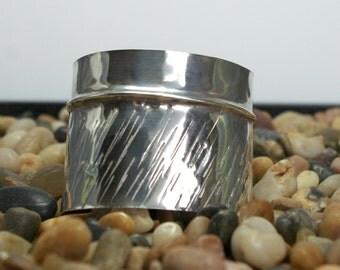Fine Silver Cuff Bracelet