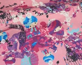 1 meter Twin Little Stars Kiki print by Kayo Horaguchi
