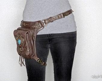 Vintage Vibes brown leather