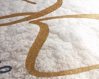 Glitter Initial Monogram UPGRADE