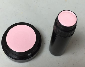 Natural Makeup PINK Mineral Cream Corrector   Acne Safe Makeup  Non-Comedogenic Makeup  Cruelty Free Cosmetics  Available in pot or tube