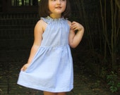 "Girls ""Bailey"" summer beach dress in rainbow choice of seersucker - 6 mos to 7 years"