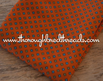 Little Geometric  - Vintage Fabric 70s 80s New Old Stock Squares