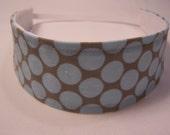 Amy Butler Fabric Lotus Full Moon Polka Dot Headband