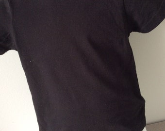 Plain blank short sleeve t-shirt from Kavio : black