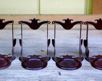 Vintage  Plastic Teacup Display Holders