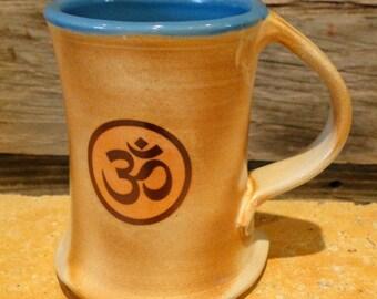Woodfired Om Mug/Cup