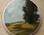 Lone Tree | Original Painting Oil Painting Landscape Painting | 6.75 x 6.75